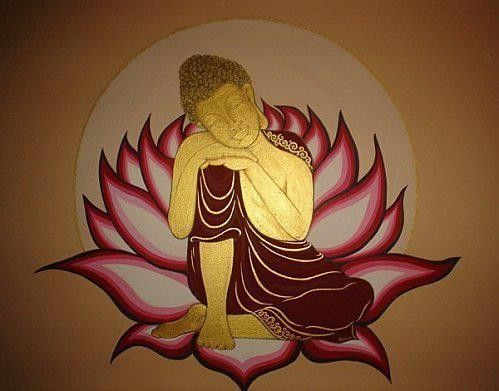 Bouddhisme page 4 for Tableau mural zen