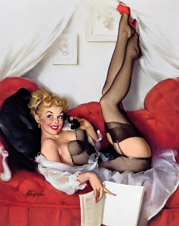 SEXY PIN-UP GIRL