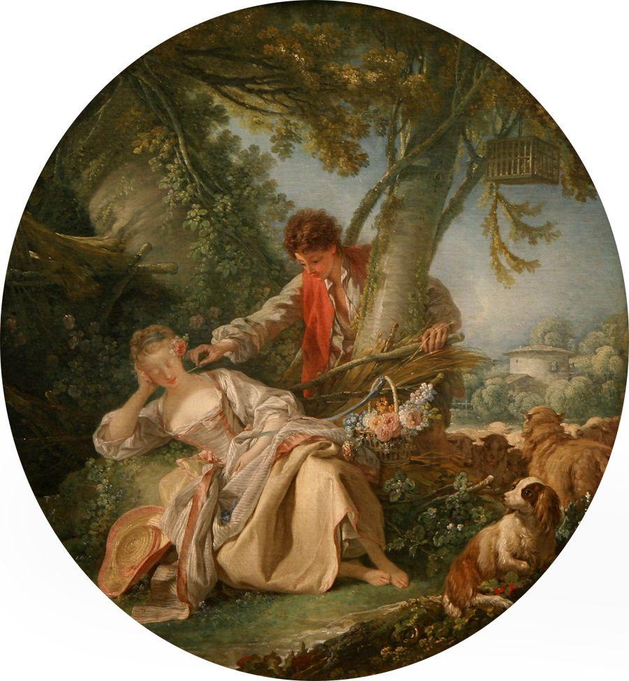 Peintre francois boucher for Boucher peintre